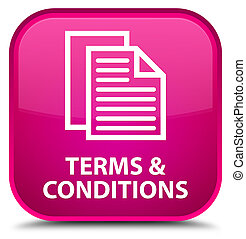 Terms and conditions (pages icon) special pink square button