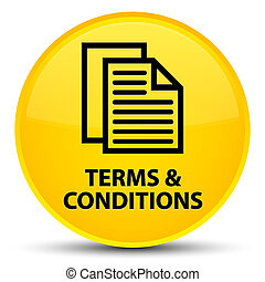 Terms and conditions (pages icon) special yellow round button