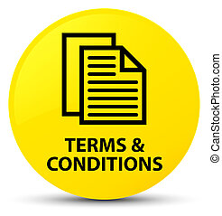 Terms and conditions (pages icon) yellow round button
