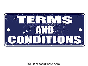 terms and conditions stamp