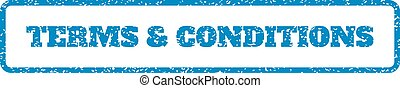 Terms & Conditions Rubber Stamp