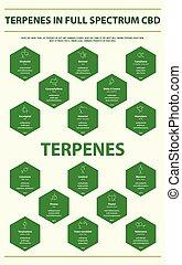 Terpenes in Full Spectrum CBD with Structural Formulas ...