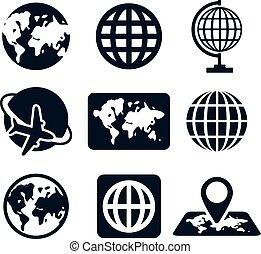 terra, ícones