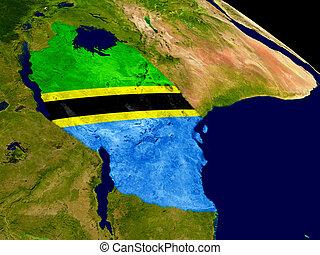 terra, bandiera tanzania