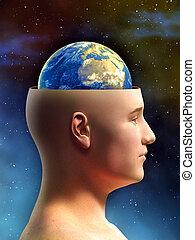 terra, cervello