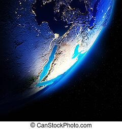 terra, continentes