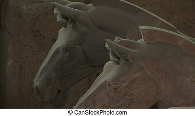 Terra Cotta Horses - Terracotta Horses and Soldiers in...