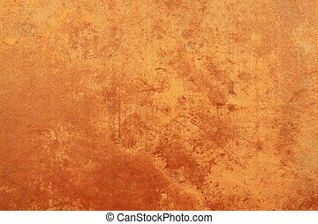 A warm terra cotta texture for backgrounds