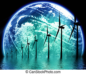 terra, ecologico, tecnologia