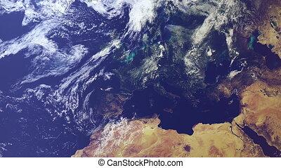terra, -, europa