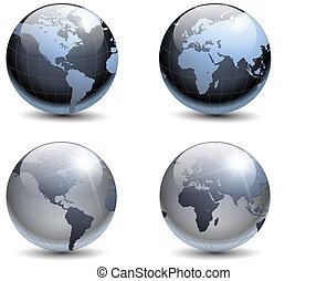 terra, globi