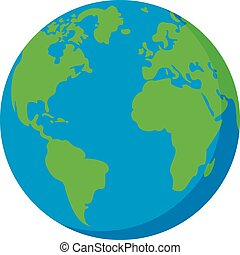 terra, icona, pianeta, appartamento