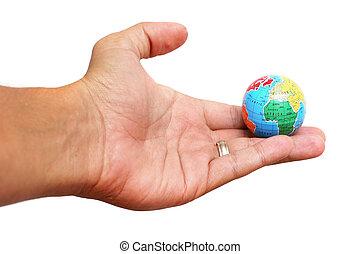 terra, mão