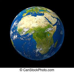terra pianeta, africa