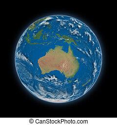 terra pianeta, australia