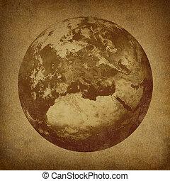 terra pianeta, caratterizzare, europa