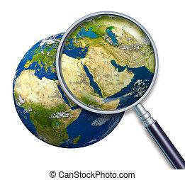 terra pianeta, medio oriente, crisi