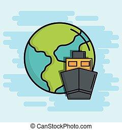 terra planeta, desenho