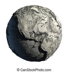 terra planeta, morto