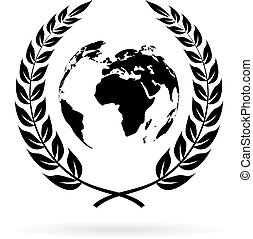 terra, símbolo, salvar