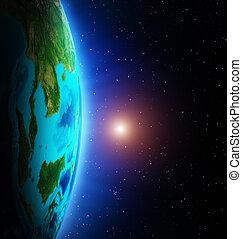 terra, spazio