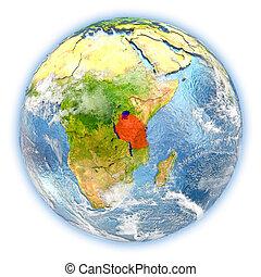 terra, tanzania, isolato