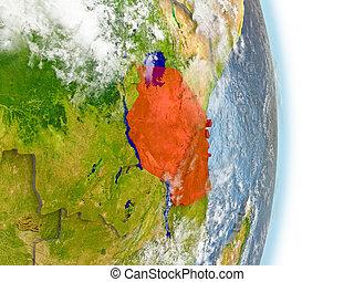terra, tanzania, rosso