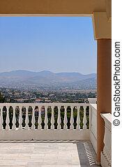 Terrace Greek churches.