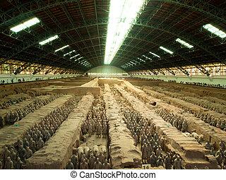 terracota, ejército