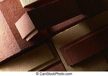 terracota, materiales