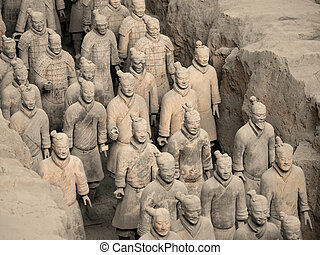 Terracotta Army - Xian - China - The Terracotta Army near...