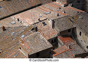terracotta roof tops