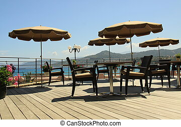 Terrasse With View On The Sea