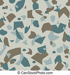 Terrazzo colorful seamless pattern Abstract repeat background Art design for textile print, tile, wallpaper, ceramic, branding conept, home decor Grey, black marble texture Vector vintage illustration
