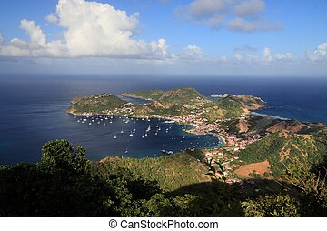 Guadeloupe - Les Saintes islands. Terre de Haut bay.