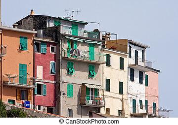 terre, italie, cinque