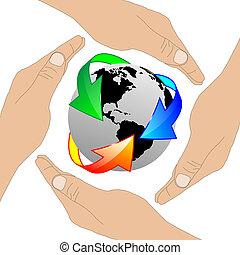 terre planète, 24.06.13, mains humaines