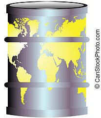 terre planète, pollution