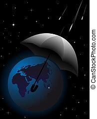 terre planète, secours