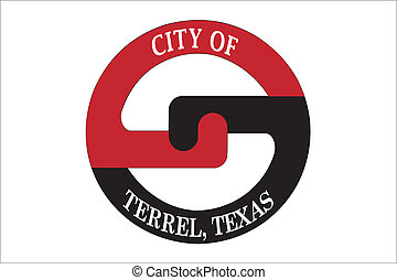 Terrel city flag