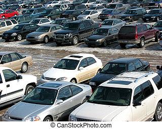 terreno, estacionamiento