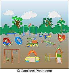 terreno gioco bambini