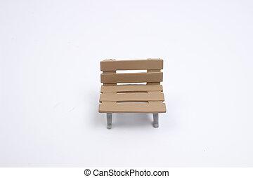 terrestre, blanc, jouet, siège arrière