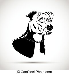 terrier, staffordshire, cane