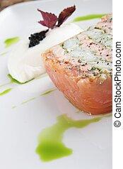 terrine, saumon