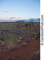 território, outback australiano, norte, austrália