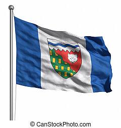 territórios, bandeira, noroeste