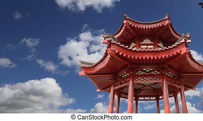 territory Big Wild Goose Pagoda - On the territory Giant...