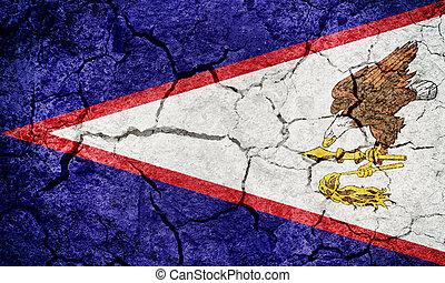 Territory of American Samoa flag