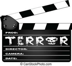 Terror Clapperboard